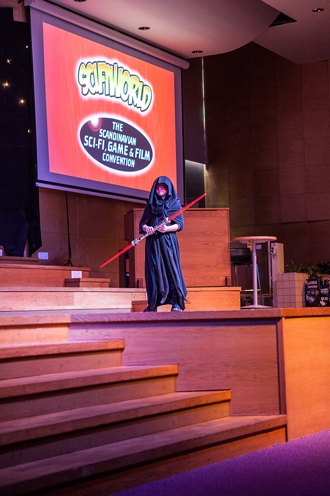 Cosplay competition - Darth Maul cosplay