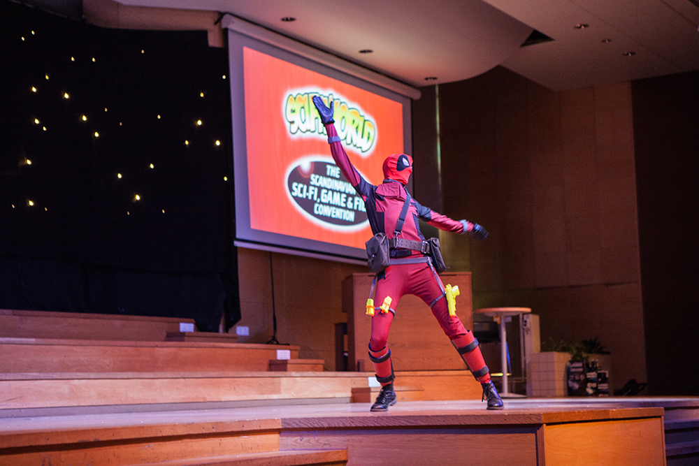 Cosplay competition - Deadpool