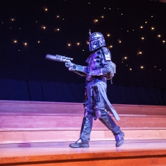 Cosplay competition - Mandalorian cosplayer