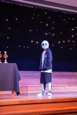 Cosplay competition - Sam from Undertale cosplay
