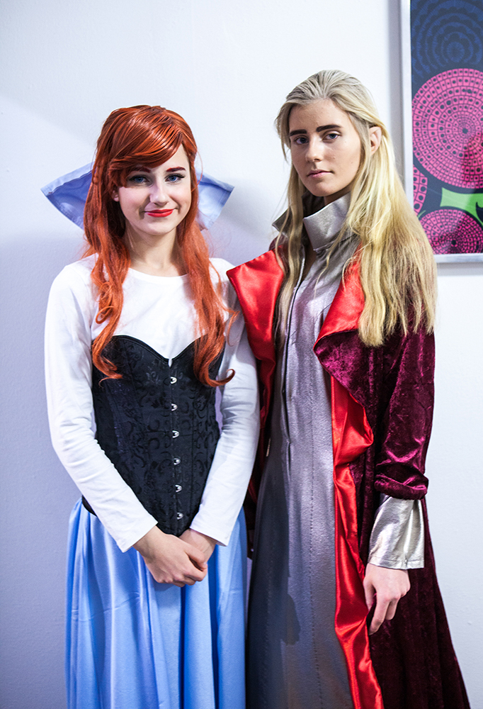 Cute Cosplayers at Sci-Fi World