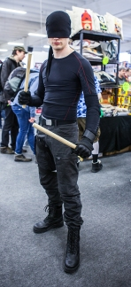 Daredevil cosplay at Sci-Fi World