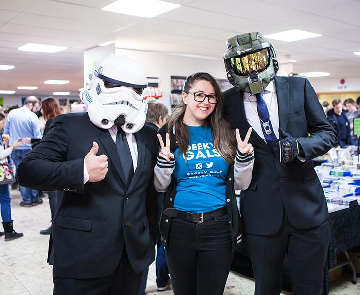 Stormtrooper, Jinn & Master Chief