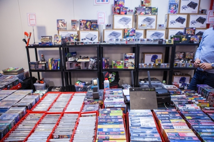 Retro games at Sci-Fi World