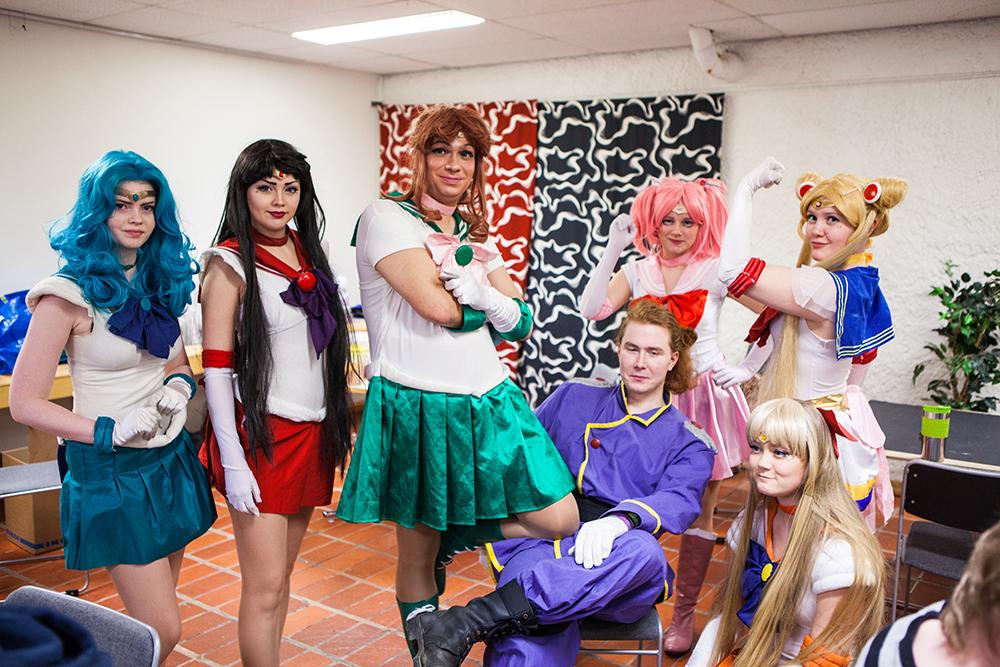 Sailor moon cosplay