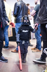 Star Wars kid at Sci-Fi World
