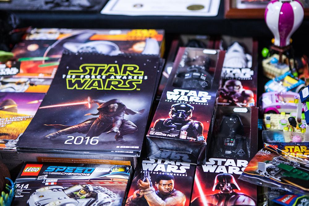 Star Wars Merch at Sci-Fi World