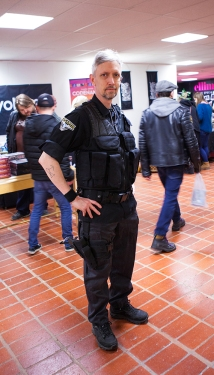 Stargate Atlantis cosplay at Sci-Fi World