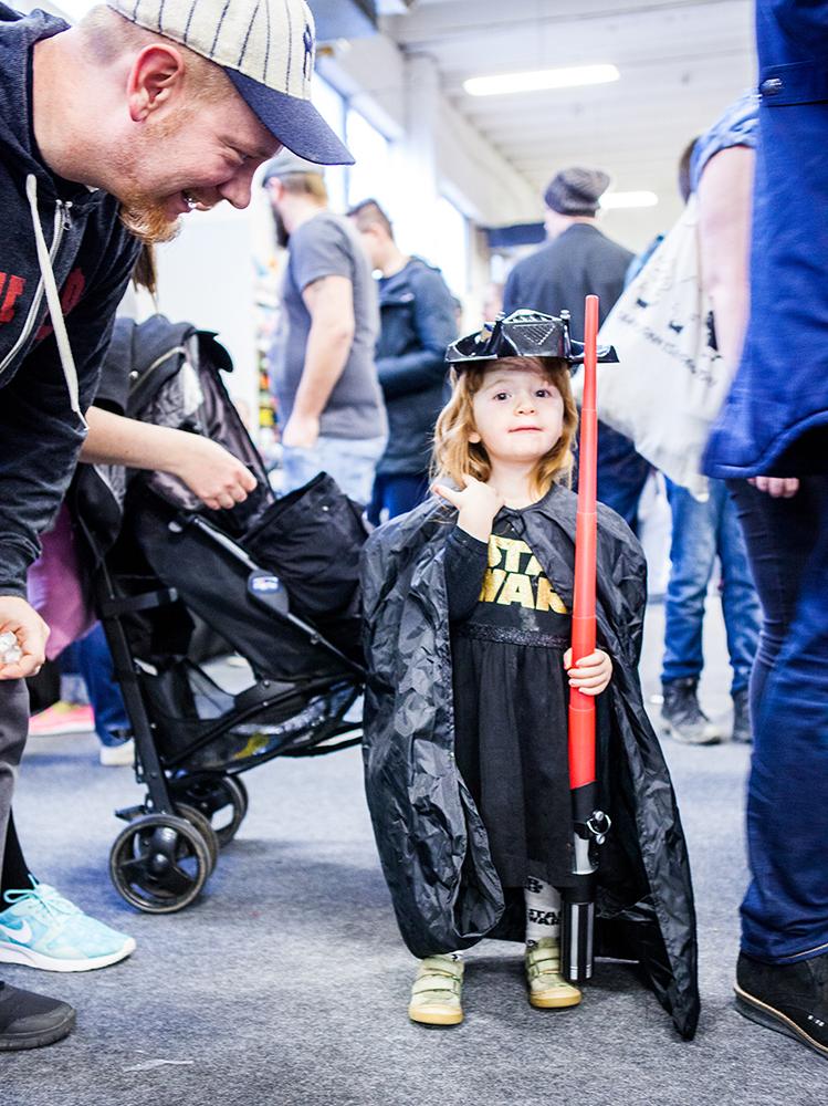 Tiny Star Wars Girl