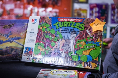 Turtles Board Game at Sci-Fi World