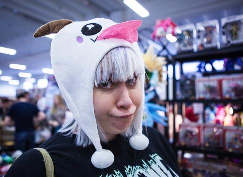 Vera in a cute hat
