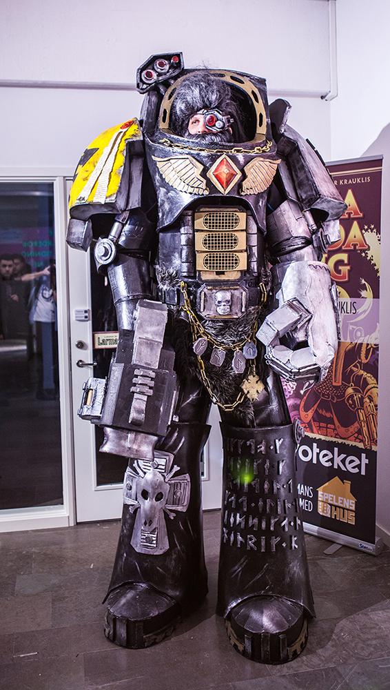 Warhammer cosplay at Sci-Fi World
