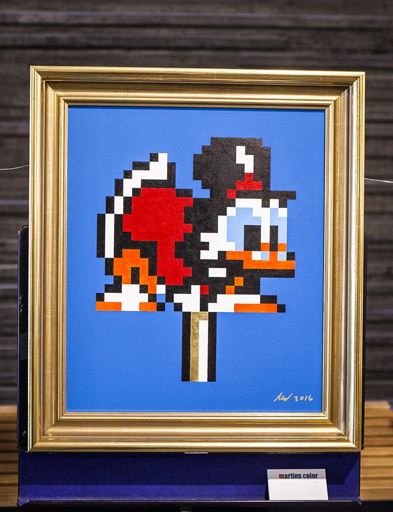 Joystick 8.0 - DuckTales art