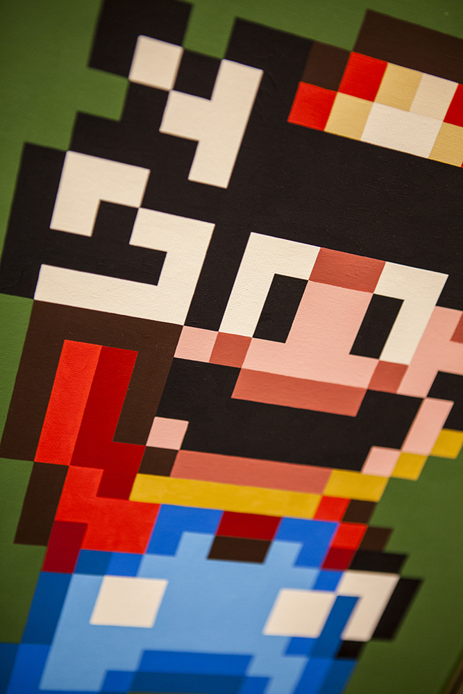 Joystick 8.0 - Mario art