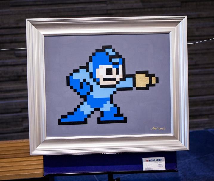Joystick 8.0 - Megaman art