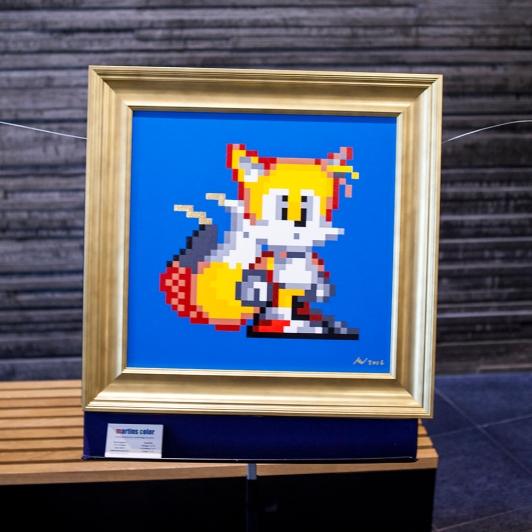 Joystick 8.0 - Sonic & Tails art
