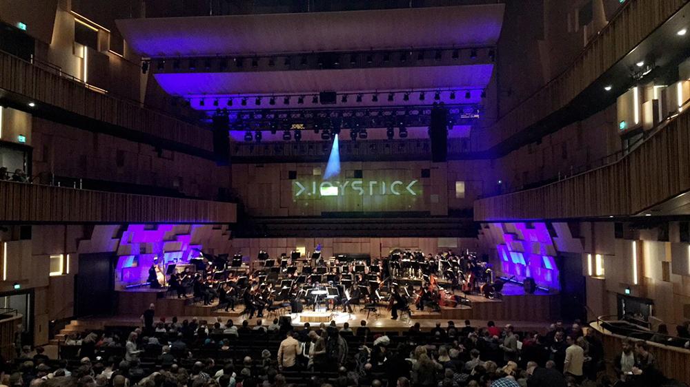 Joystick concert
