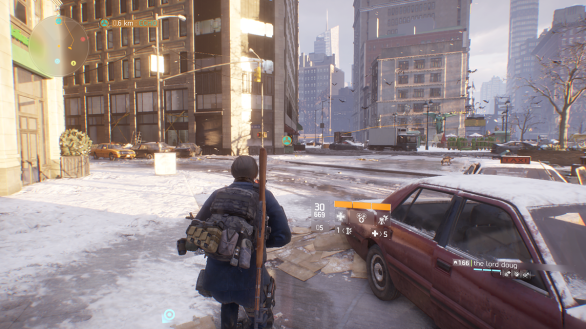 The Division scenery 1