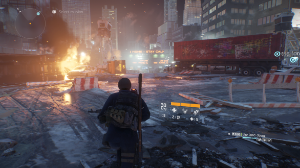 The Division scenery 3