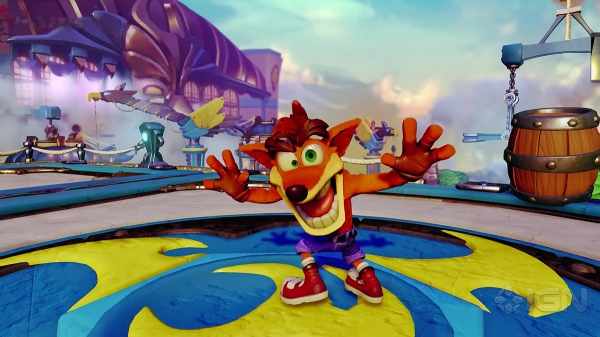 Crash Bandicoot is Crashing the Party