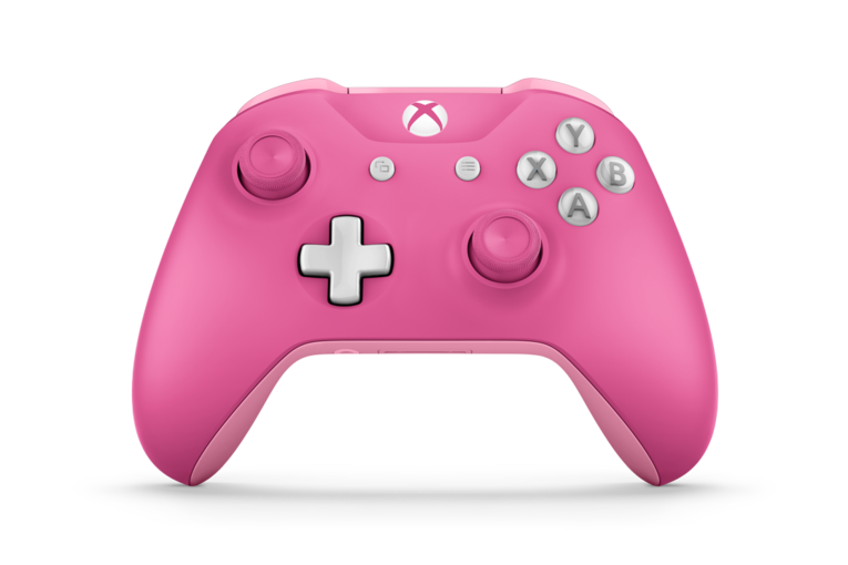 Pink Xbox One controller - xbox one customizable colored controller
