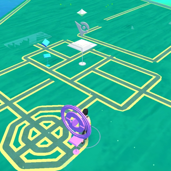 An unattended gym - yes please! - Pokémon Go