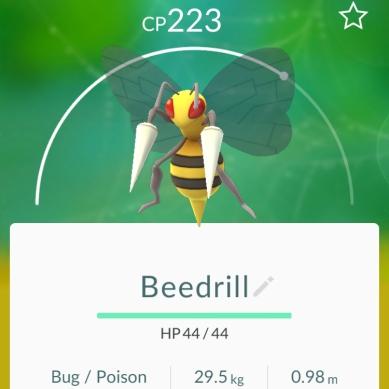 Beedrill - Pokémon Go