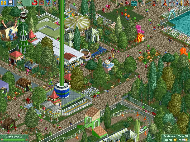 Roller Coaster Tycoon PC