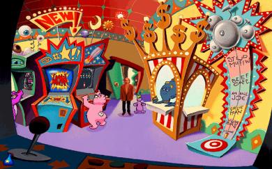 Toonstruck - arcade