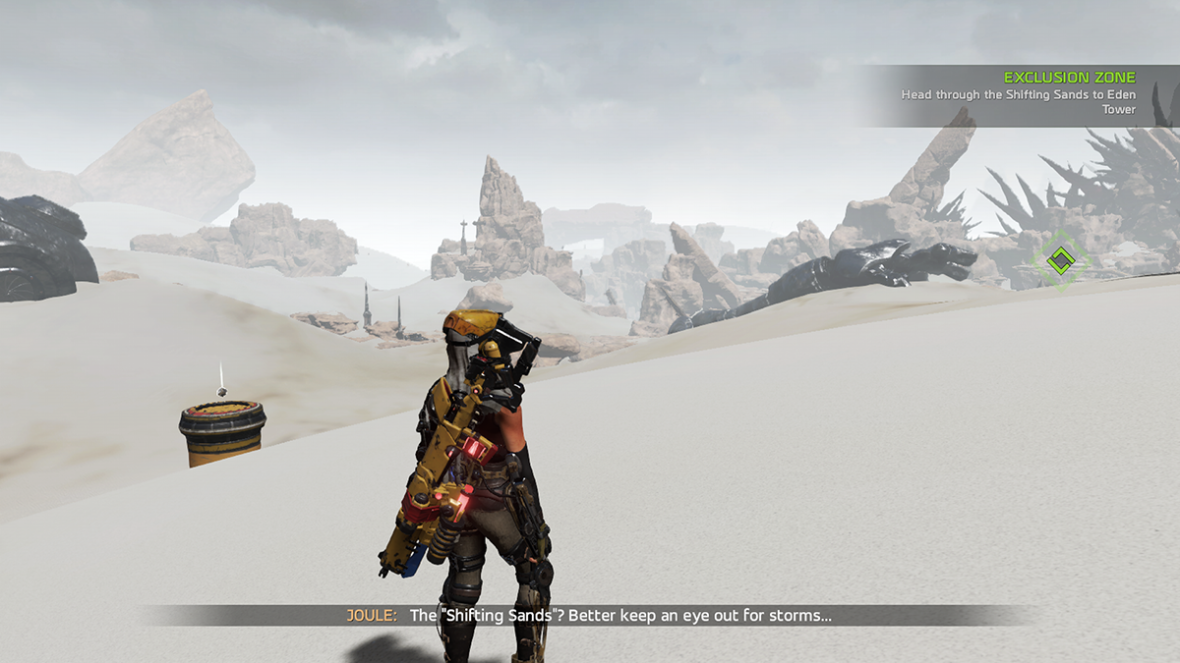 Deserts in ReCore