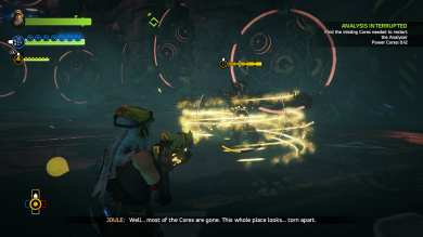 Fighting in ReCore