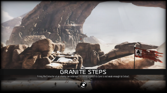 Granite Steps loading screen - ReCore
