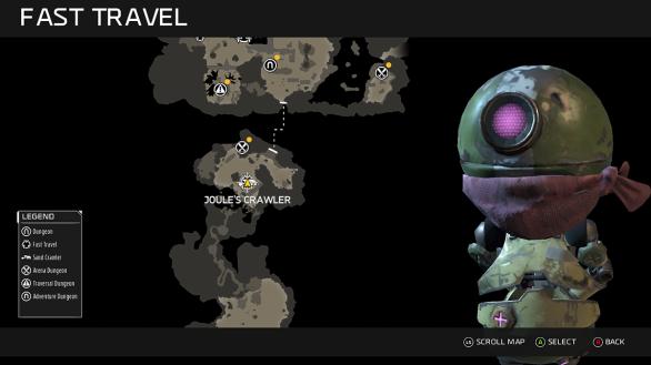 Map - ReCore