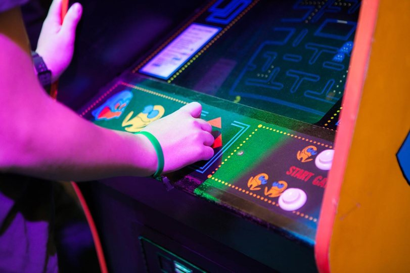 Pac-Man on arcade