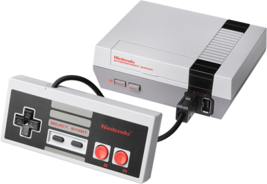 NES Mini with standard controller