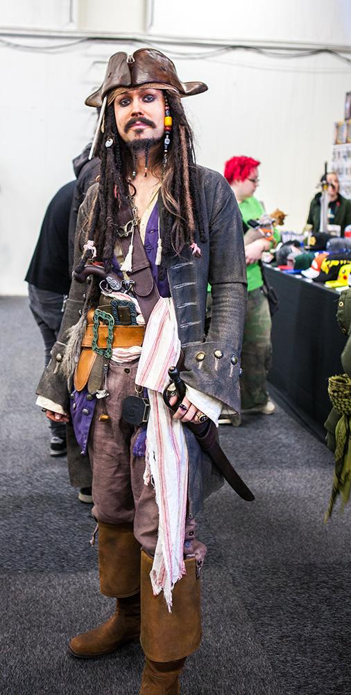 Captain Jack Sparrow cosplay - Sci-Fi World