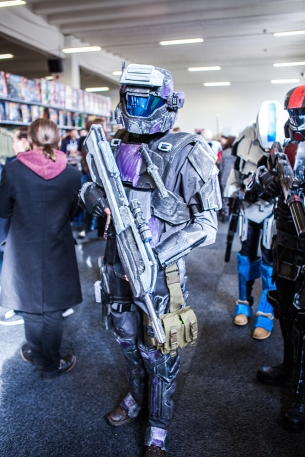 Halo ODST Cosplay - Sci-Fi World