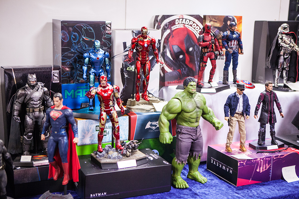Marvel action figures - Sci-Fi World