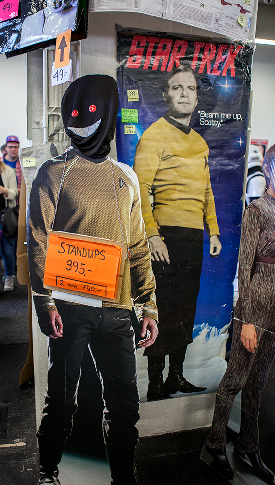 Star Trek standup - Sci-Fi World