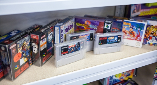 Super Nintendo games - Sci-Fi World