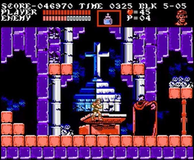 Castlevania Dracula's Curse Fighting Alucard