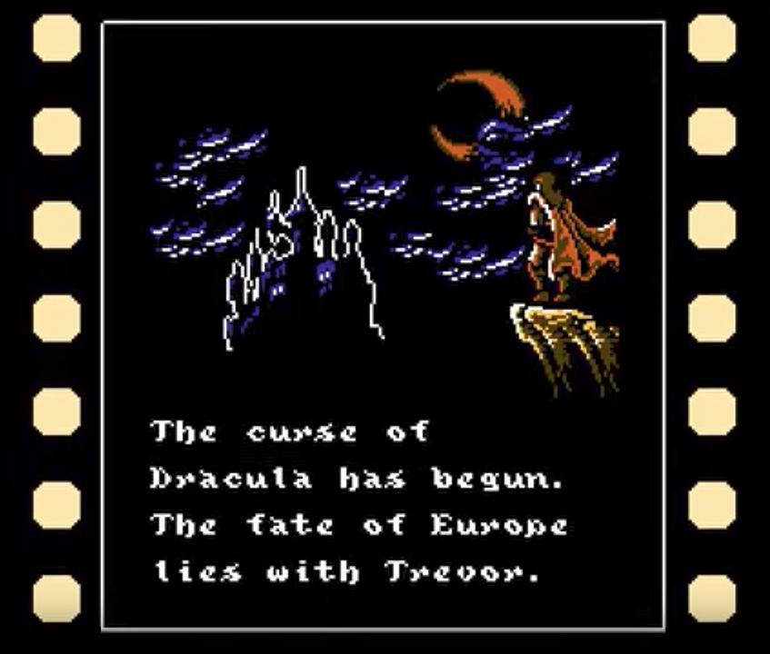 Castlevania Dracula's Curse intro