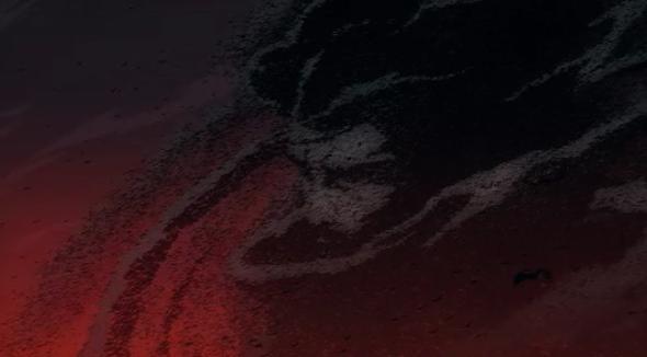Castlevania Netflix - Dracula in dust