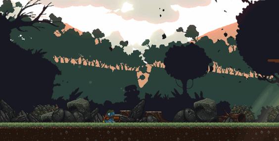 Dragon Bros Pixel graphics