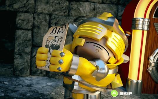 Dungeon Bro Yellow