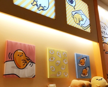 Gudetama paintings