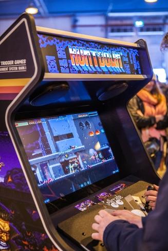 Huntdown arcade