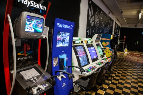 Playstation demo stands - RSF