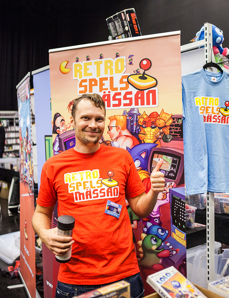 Retrospelsmässan at RSF