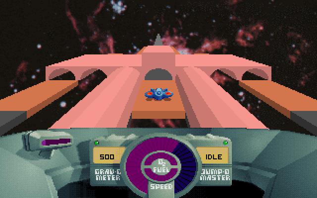 SkyRoads Crab Nebula fake tunnel